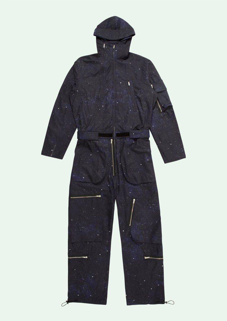 Off-White Art Dad限定系列連身工作服,約56,220元。圖/摘自...