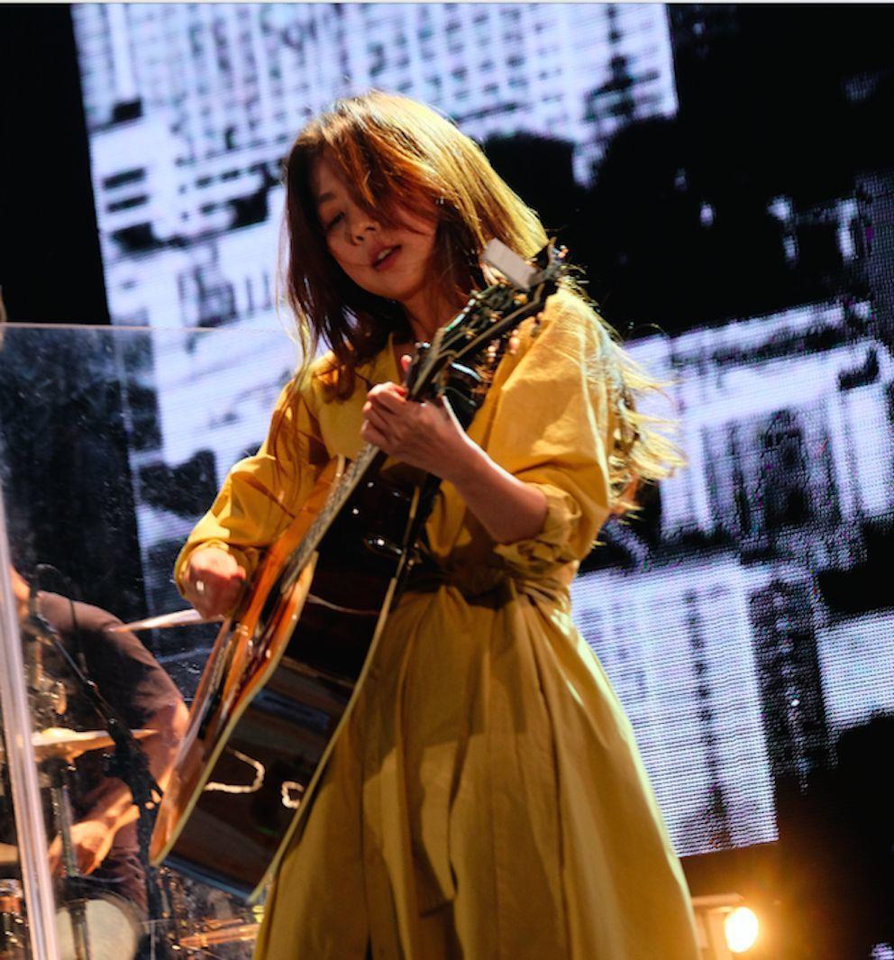 陳綺貞日前演唱新歌,感動不少鐵粉。圖/添翼創越工作室