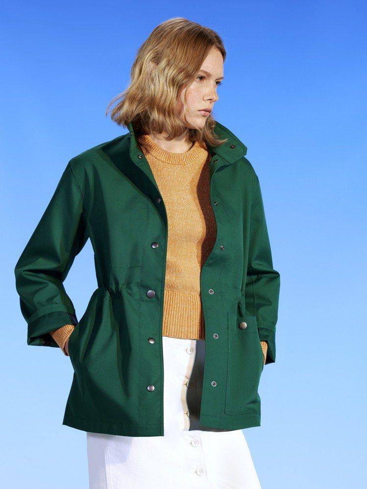 UNIQLO U系列Blocktech大衣,約3,990元。圖/UNIQLO提供