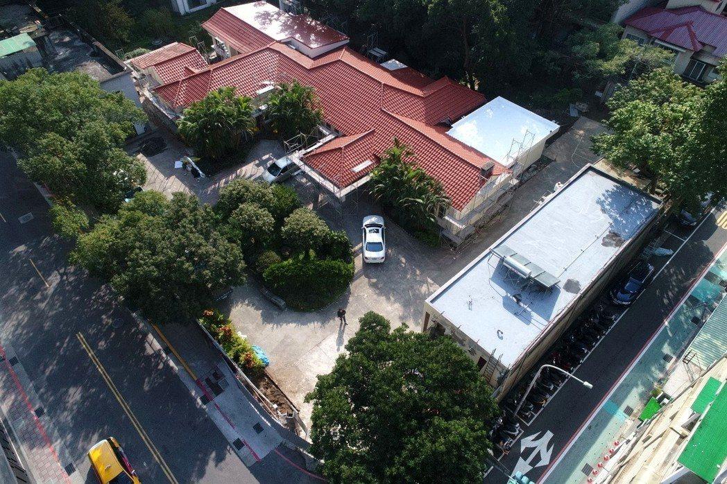 行政院106年動支第二預備金整修位於台北市金華街上的行政院長官邸。 記者許正宏/...