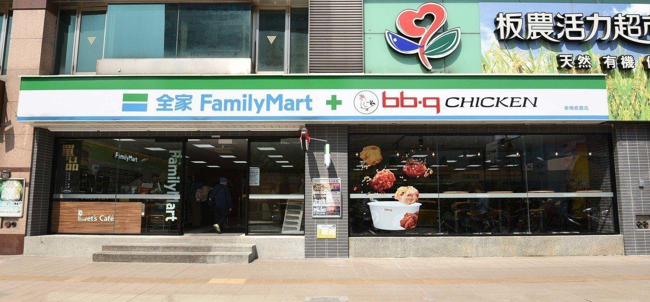 全家便利商店宣佈攜手韓國炸雞最大規模品牌bb.q CHICKEN,導入全新現做調...