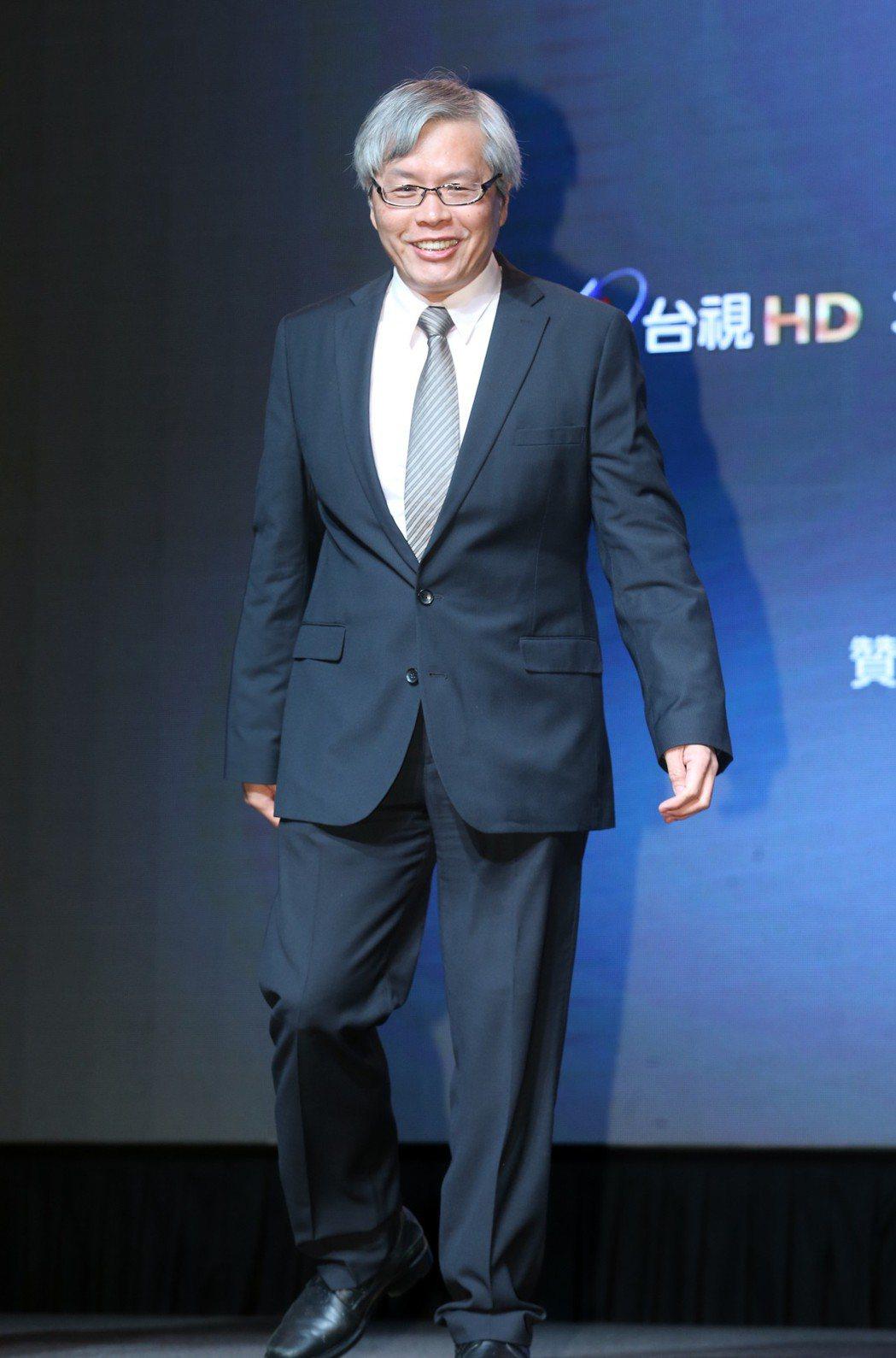 台劇「1006的房客」舉辦首映會,歐銻銻娛樂董事長范立達出席為新戲宣傳。記者許正...