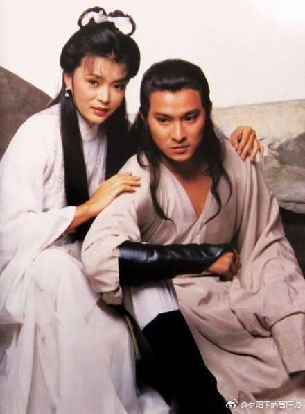 陳玉蓮與劉德華35年前合作「神雕俠侶」。圖/摘自微博