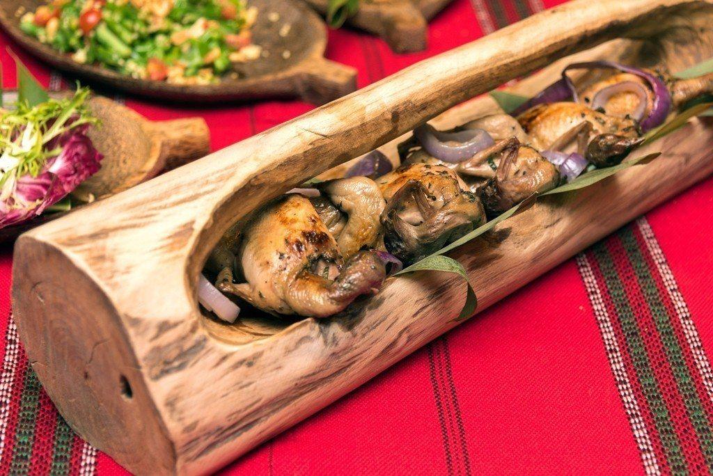 新竹喜來登打開大地的冰箱 推出「部落美食節」。業者/提供