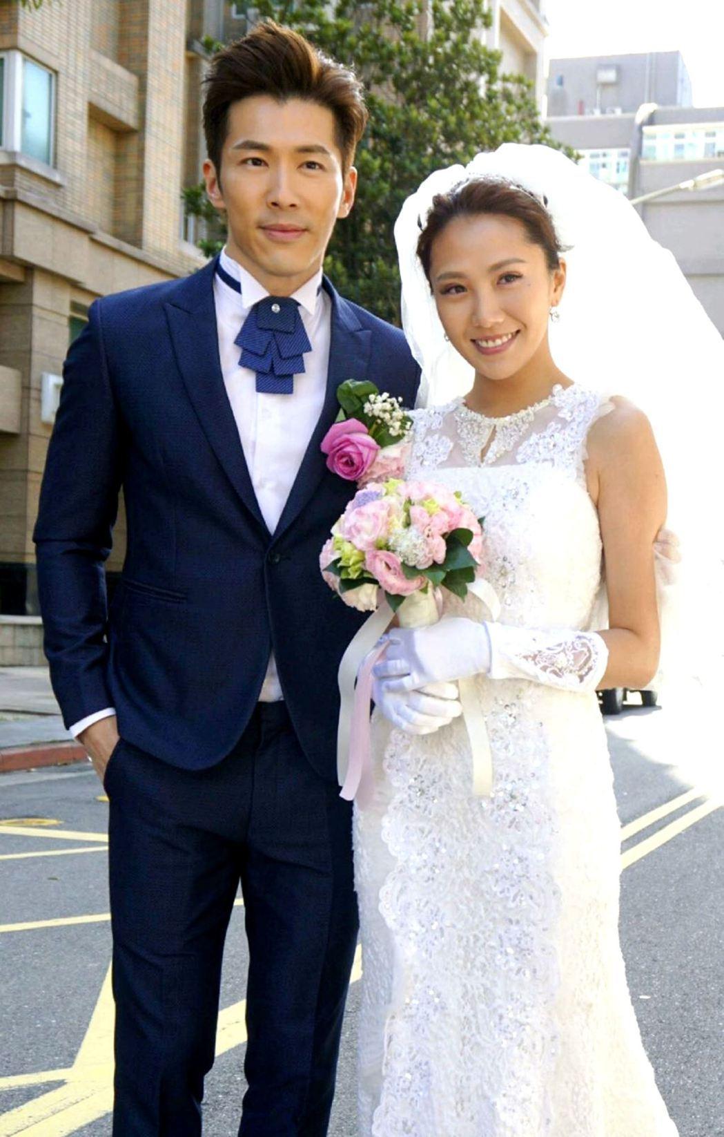 網友盼黃少祺(左)與大牙結不成婚。圖/三立提供