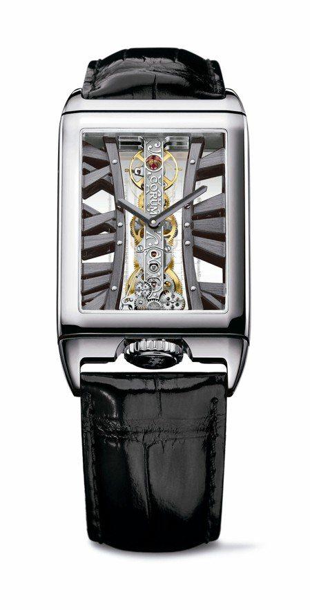 崑崙金橋系列特別腕表,18K白金表殼搭載CO 113手上鍊機芯,價格未定。圖/C...
