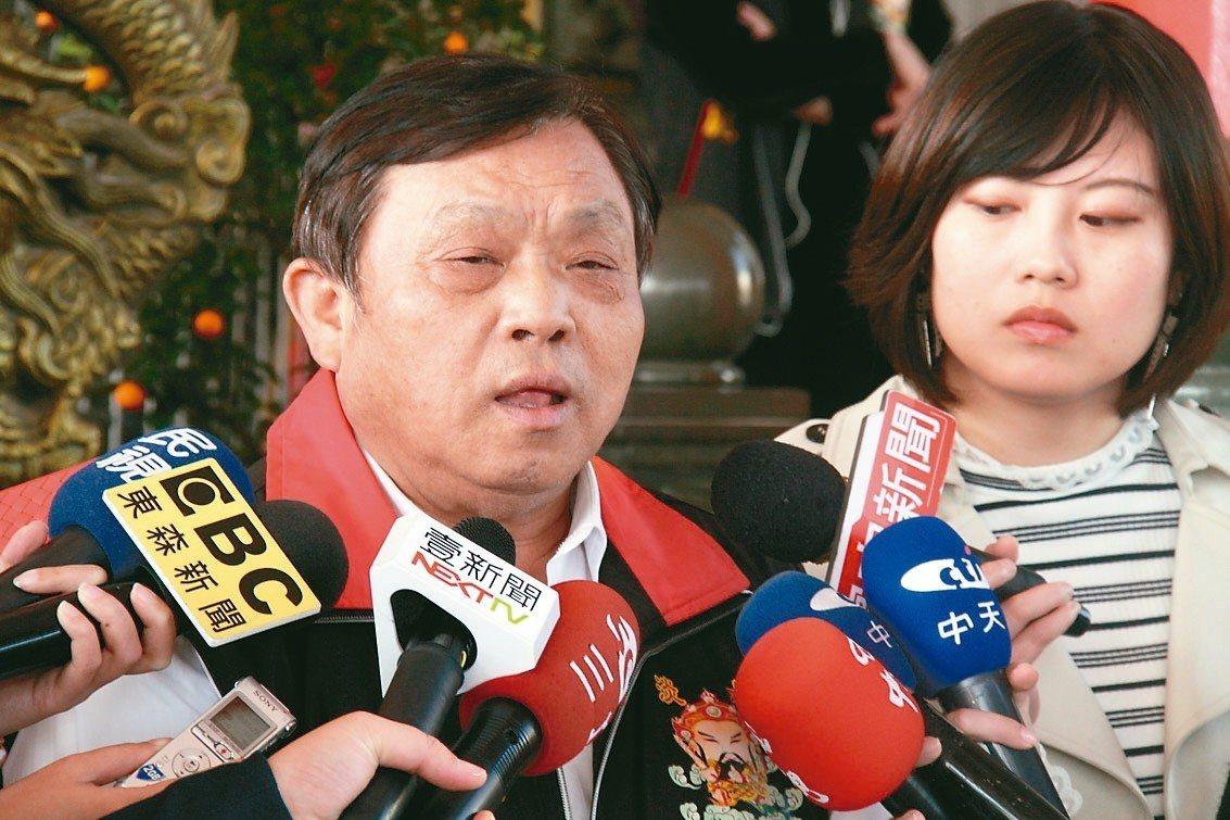 新北市議員蔡錦賢。 聯合報系記者王敏旭/攝影