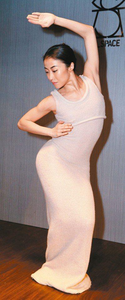 簡珮如首次以瑪莎葛蘭姆舞團首席舞者身分回台表演。 圖/聯合數位文創提供
