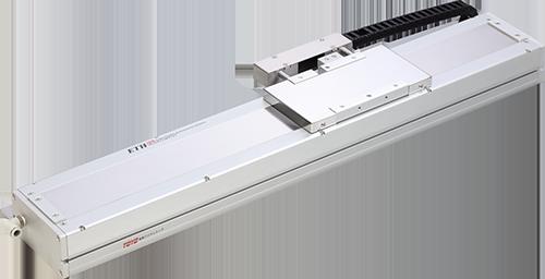 LCF無塵室用線馬機械手,可同時達到長行程、高精度、高速度、低噪音。東佑達/提供