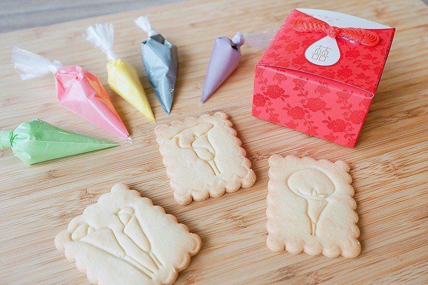 「芋見幸福」婚禮餅乾免費體驗活動。 桃園市政府農業局/提供