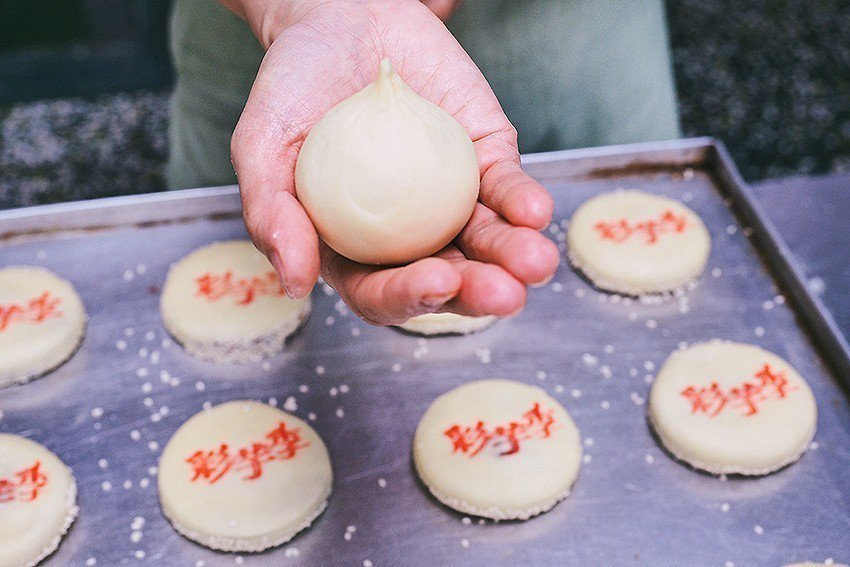 活動客製化專屬中式大小餅。 桃園市政府農業局/提供