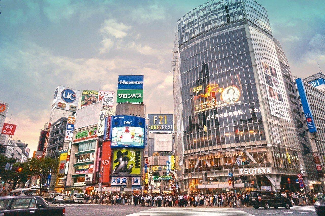日本東京澀谷街景。 第一太平戴維斯/提供