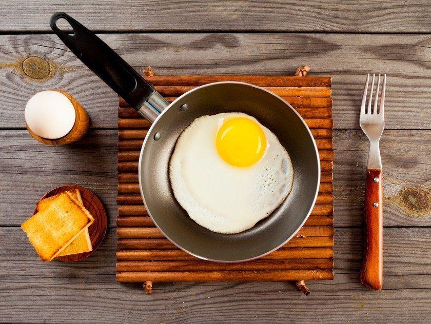 早餐來顆蛋,是不錯的選擇。 圖/ingimage