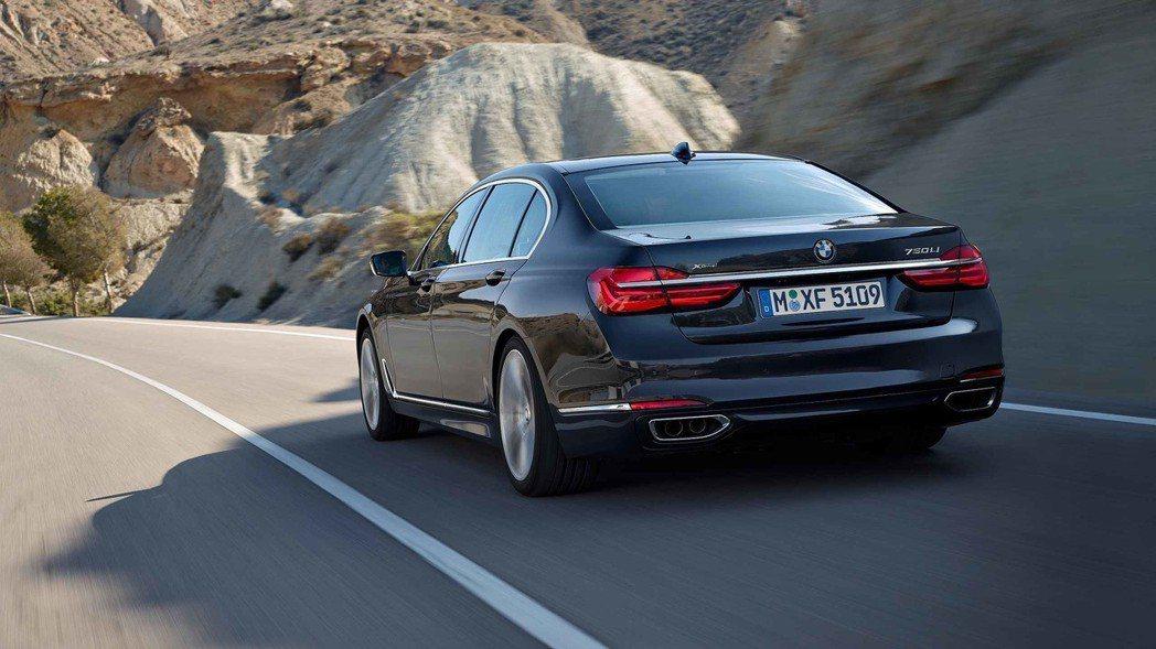 圖為現行版BMW 7-Series。 摘自BMW