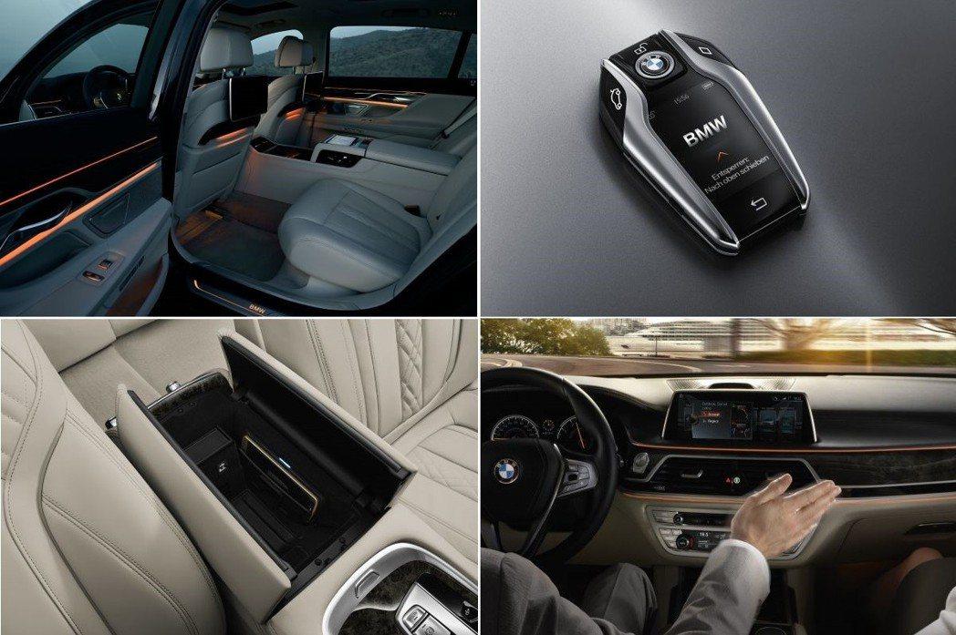 BMW在進入G世代後,鑰匙都改為智慧型螢幕鑰匙。 摘自BMW