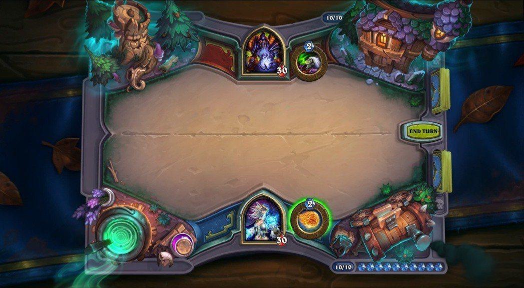 黑巫森林卡牌桌