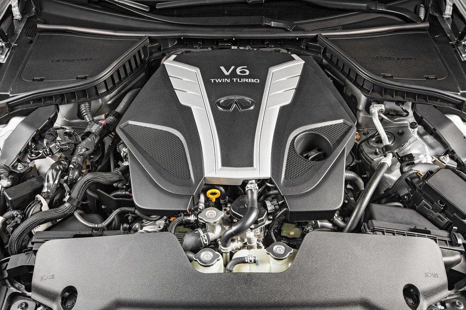 VR30DDTT V6雙渦輪增壓引擎 可輸出400hp。 摘自Infiniti
