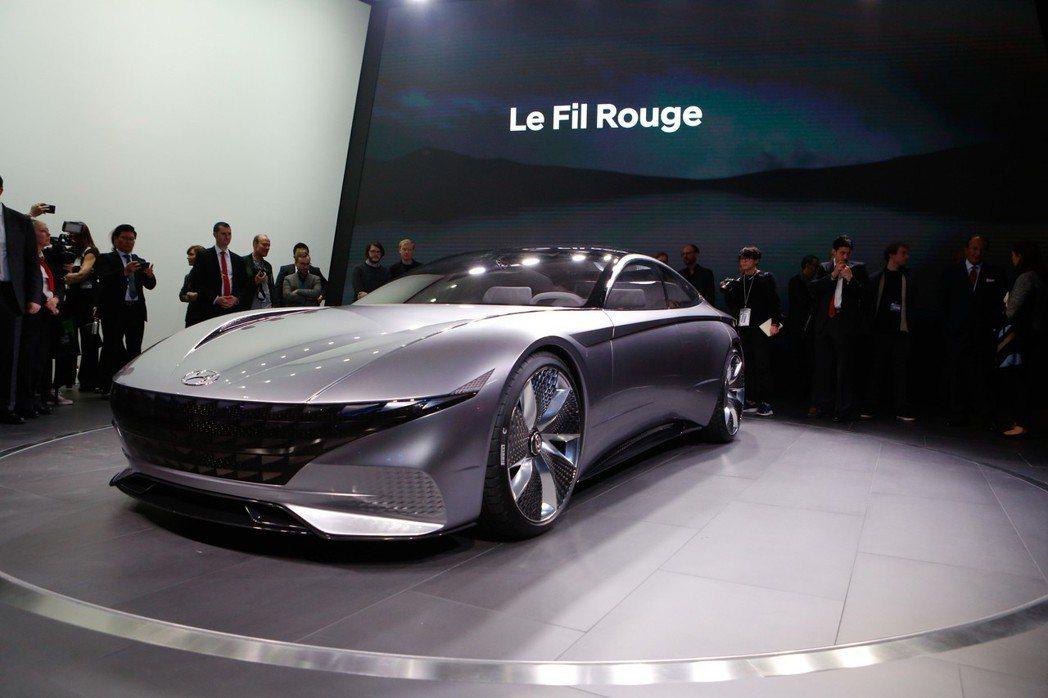 圖為Hyundai Le Fil Rouge。 摘自Hyundai