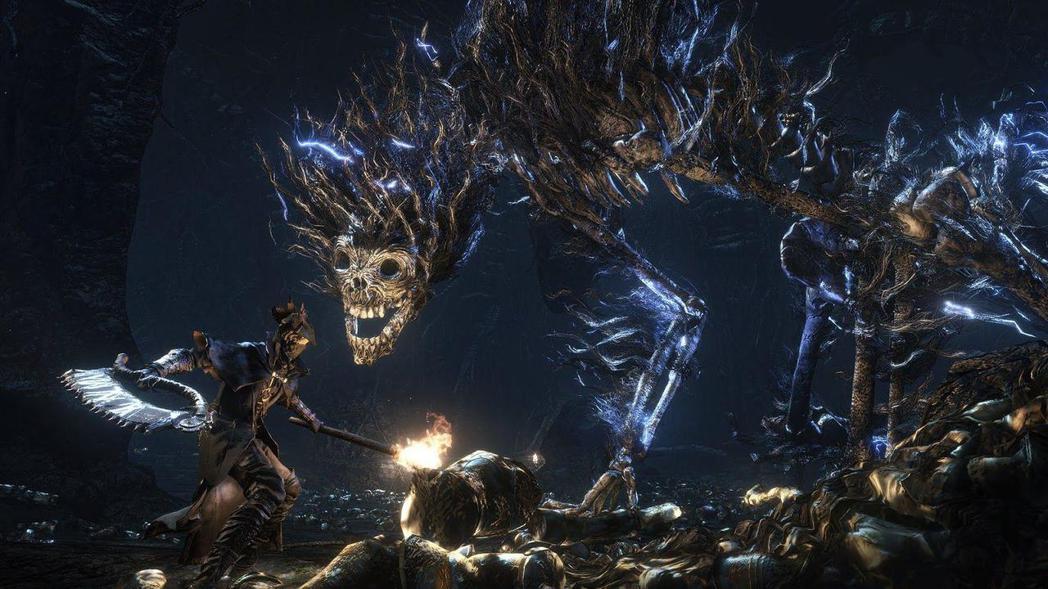 不同的 boss 為玩家帶來不同挑戰。 圖/取自PS4