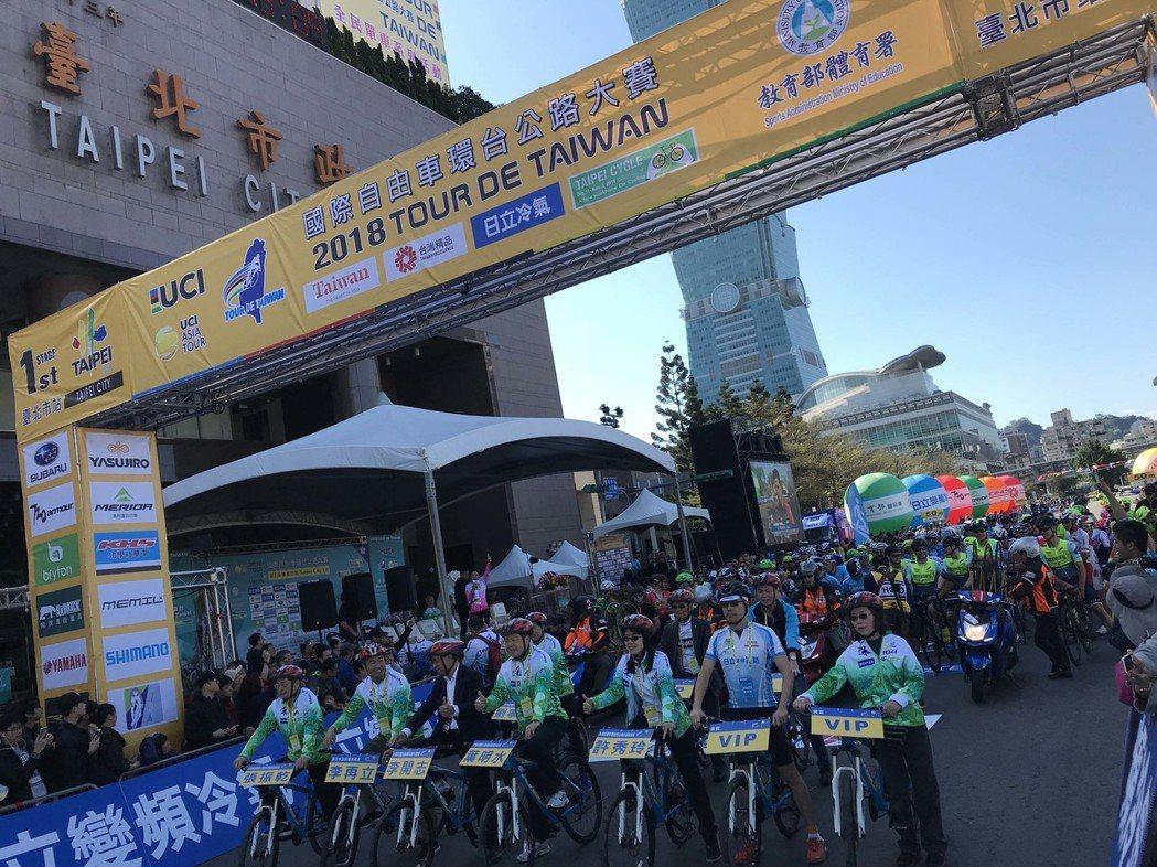 SUBARU台灣意美汽車善盡社會責任,今年再度獨家贊助「2018國際自由車環台公...