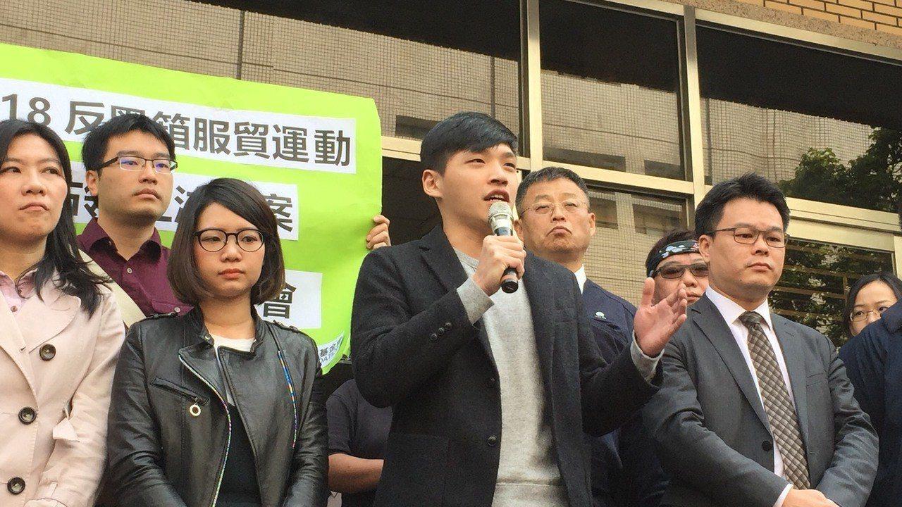 時代力量黨團助理陳為廷表示,本判決的深遠在於劃出一條界線,去保障言論自由範疇,讓...