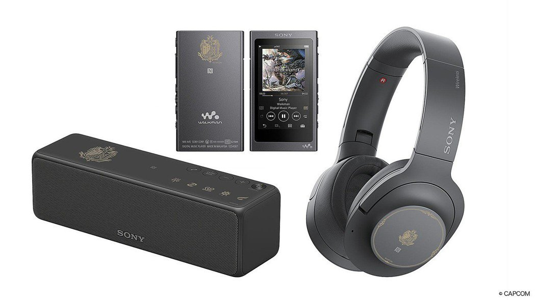 Sony x 魔物獵人 世界限量聯名產品攜手打造震撼音樂狩獵快感。 圖/Sony...