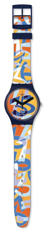35周年紀念表SWATCH UGO,售價2,500元。 圖/Swatch提供