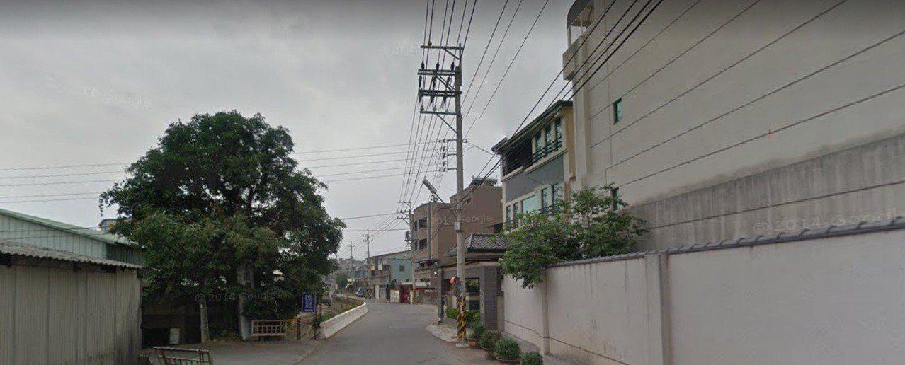 台中市西屯區安林路今天下午傳出兇殺案。圖/摘自googlemap