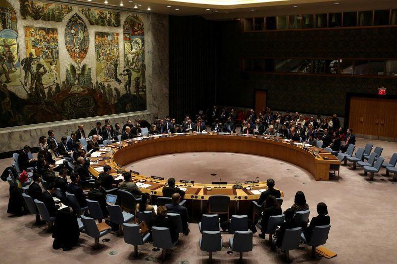 聯合國安理會去年12月22日開會討論北韓制裁措施。路透