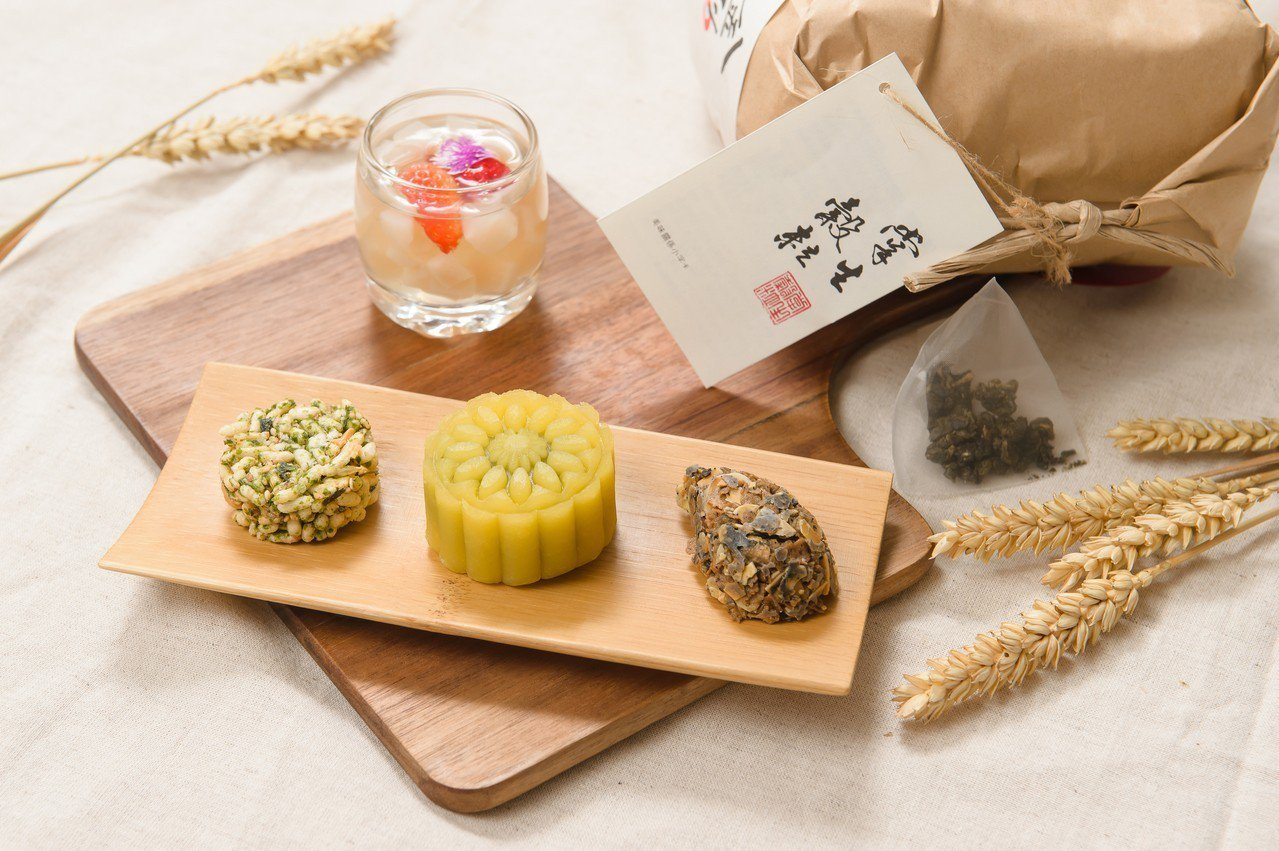 主廚結合食材特性設計富含純然原味的系列茶點。業者/提供