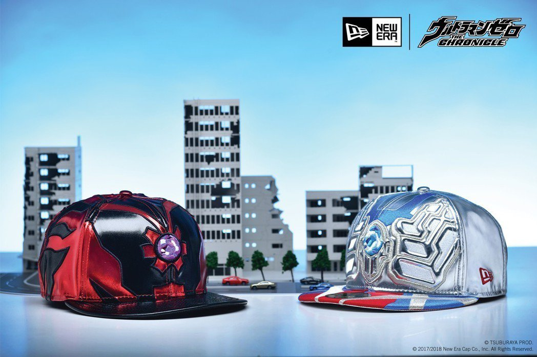 NEW ERA X Ultraman Zero超人力霸王主題帽款。圖/NEW E...