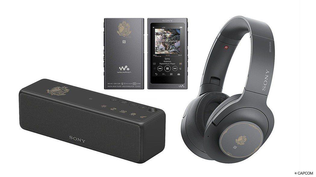 Sony此次特別針對玩家精選了支援高解析音質且方便行動使用的產品系列。圖/Son...