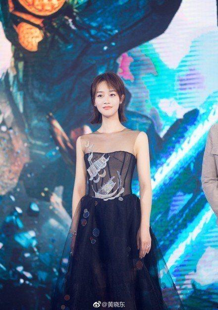 女星藍盈瑩曾演出「後宮甄嬛傳」浣碧一角。圖/摘自微博