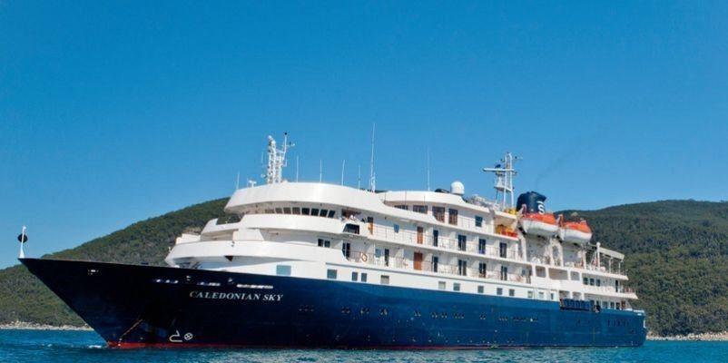 英國郵輪本週來台環島、跳島。圖/航港局提供