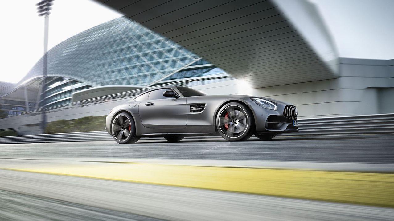2018年Mercedes-AMG推出全新AMG GT C車型,與既有的AMG ...