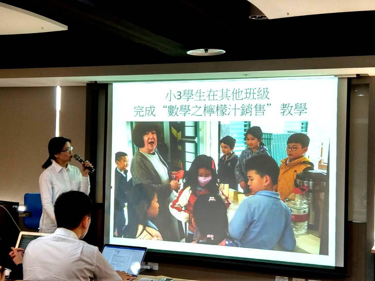 曾在越南、大陸等地國際學校任教的葉曉平,下午在一場IB論壇上,介紹杭州國際學校如...