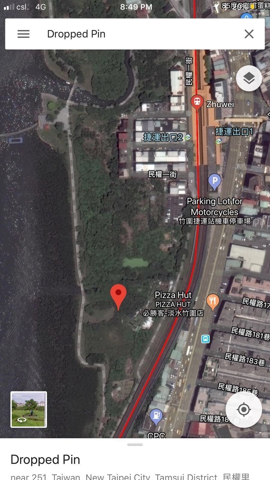 香港籍潘姓女子在台疑遭陳姓男友殺害,香港警方要求陳透過「Google地圖」指出棄...