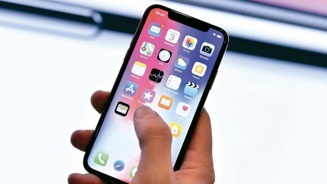 今年有22%已持有iPhone者有意升級新款機種。 圖/歐新社