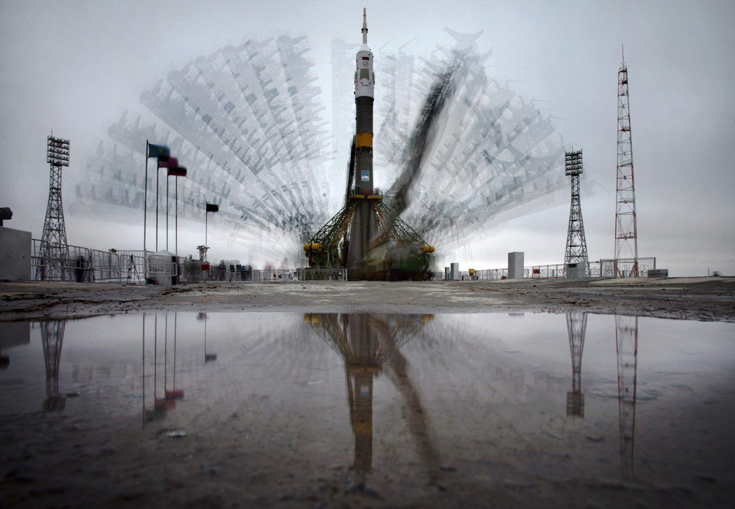 俄羅斯聯合號TMA-21號太空船。 美聯社
