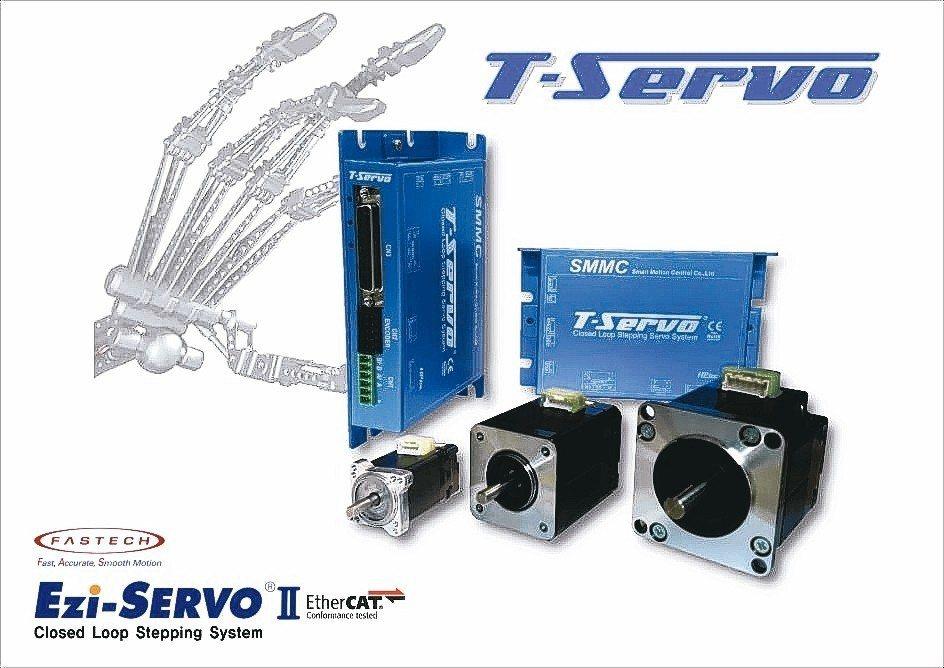 T(orque)-Servo扭力型脈衝伺服系統。 司麥德/提供