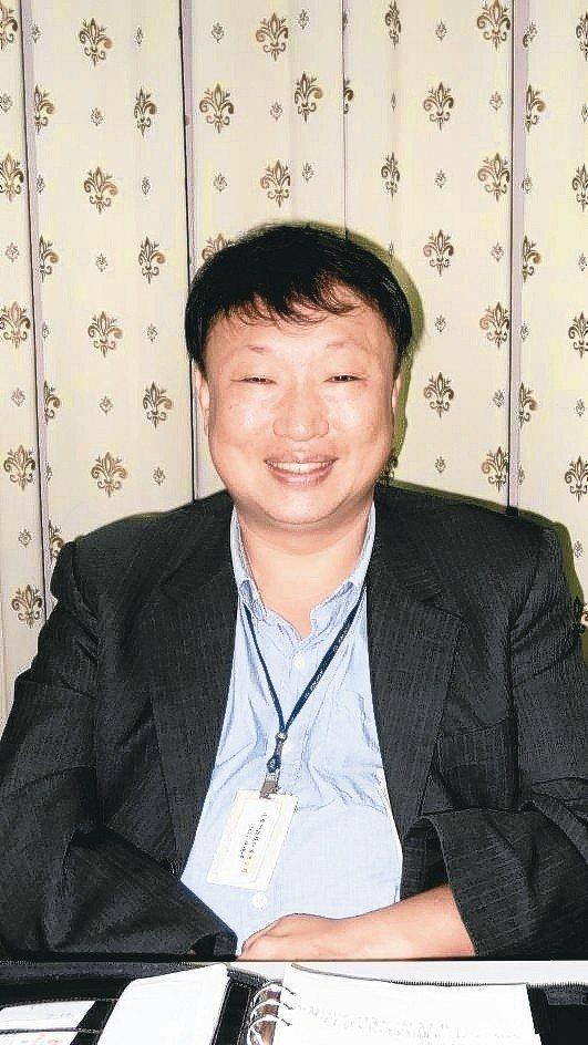 達勝科技董事長孫德錚。 翁永全/攝影