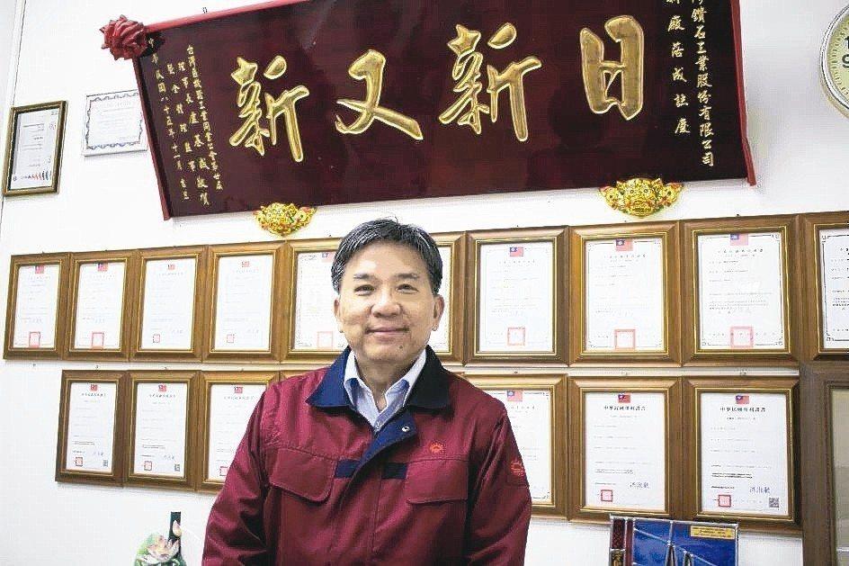 日本旭鑽石工業株式會社集團海外事業本部本部長、台鑽董事長藍敏雄博士。 業者/提供
