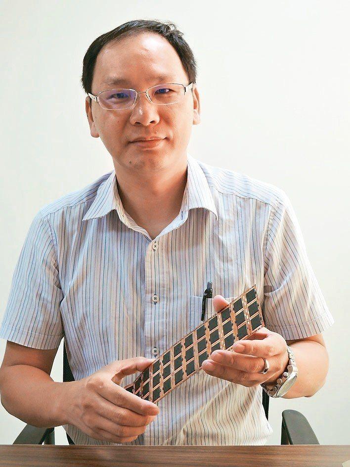 瀚萱科技總經理楊榮華。 翁永全/攝影