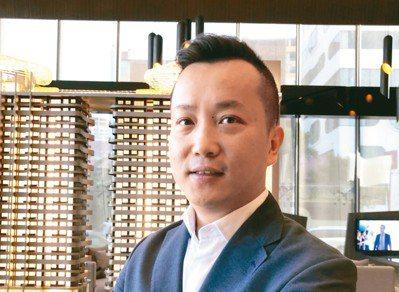利鑫集團執行長許銘釗年輕、有才氣、有膽識。 記者林政鋒╱攝影