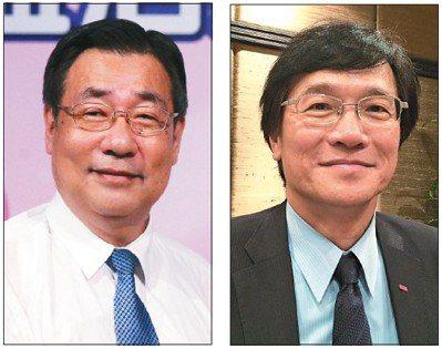 彰銀新任總經理張鴻基(左)、台企銀新任總經理施建安(右) 報系資料照片