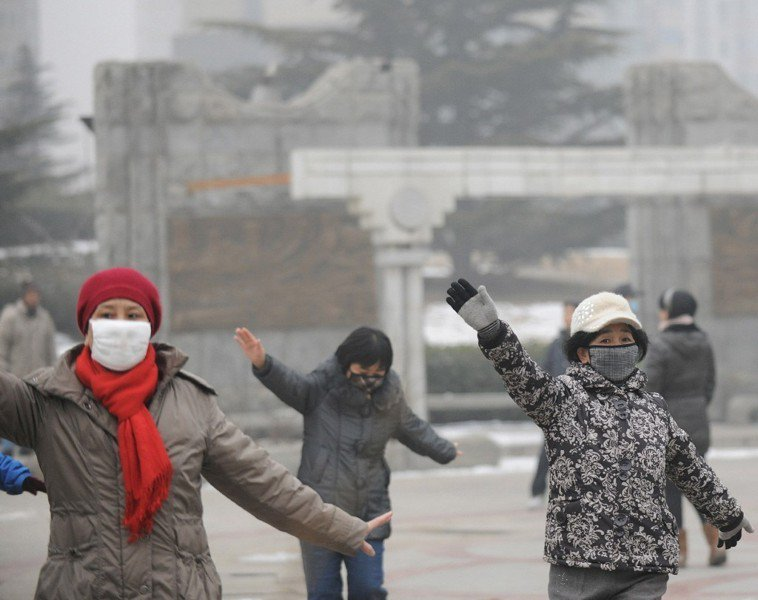 空污嚴重很傷身。新華社資料照片