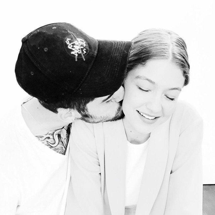 Gigi Hadid和贊恩宣告分手。圖/擷自instagram