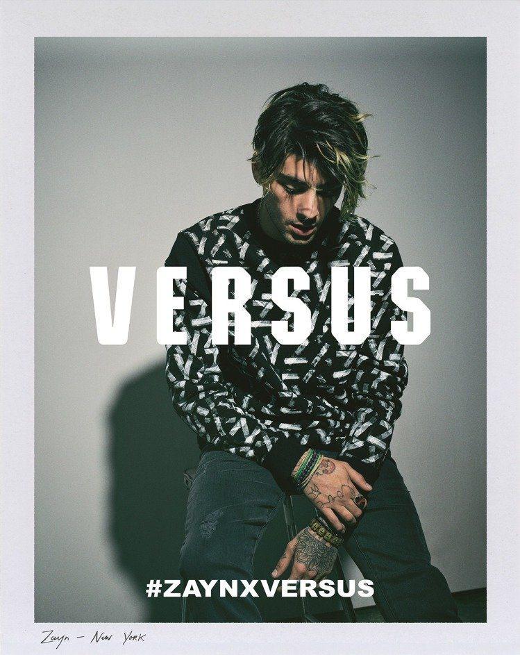 Versus Versace 2017春夏廣告由Gigi Hadid替贊恩拍攝。...