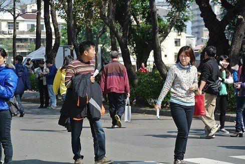 台南的天候早上相當冷。 圖片來源/聯合報系資料照
