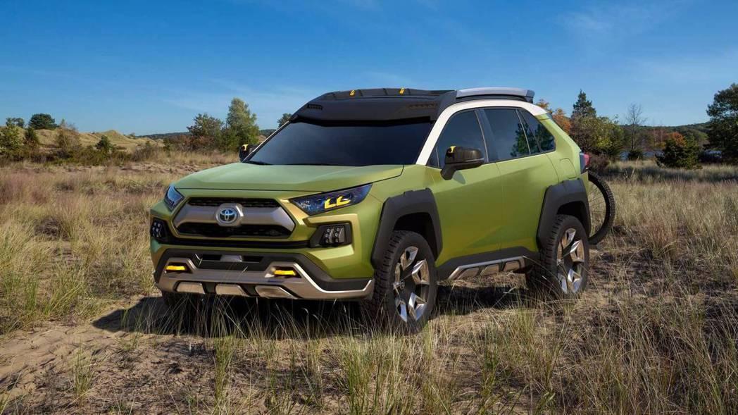 圖為Toyota FT-AC Concept。 摘自Toyota